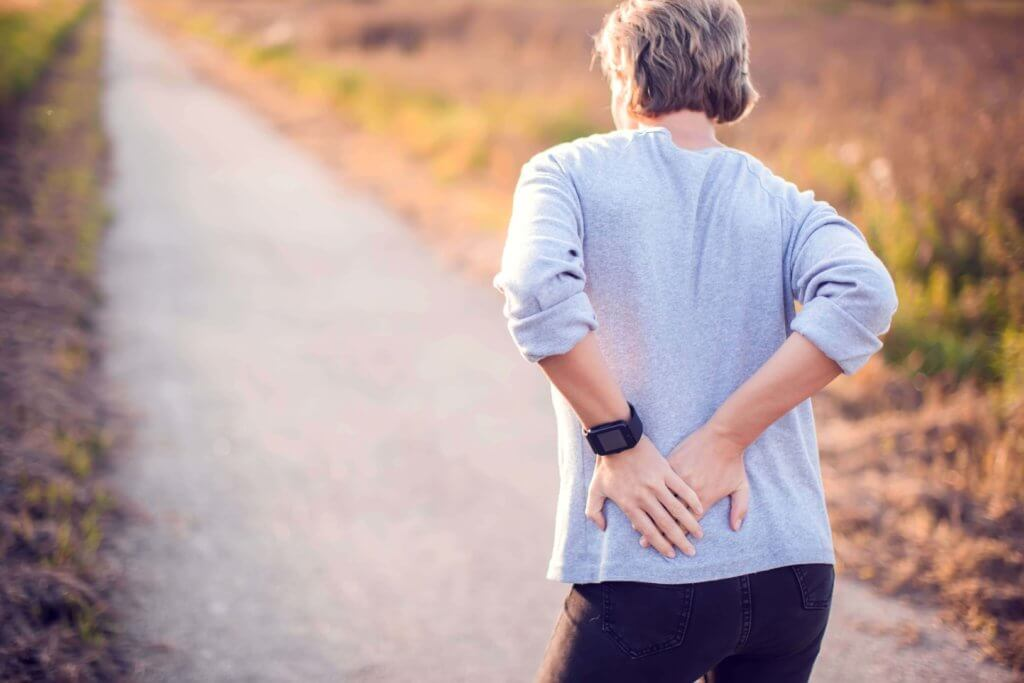 Back Caused by herniated disc